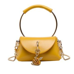 """Fashion Week"" Gold Mini Bag"